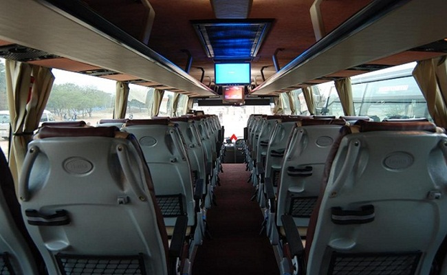 Volvo Bus Booking In Hyderabad Volvo Coach Hire For Hyderabad Tour